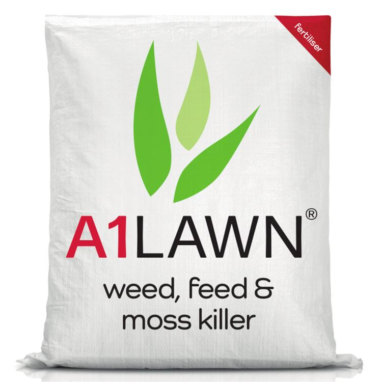 A1LAWN Lawn Weed, Feed & Moss Killer (Double Strength)